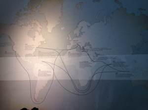 Starbucks map of coffee